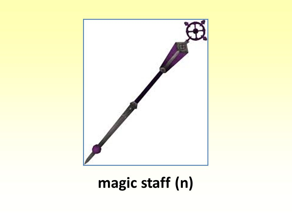 magic staff (n)