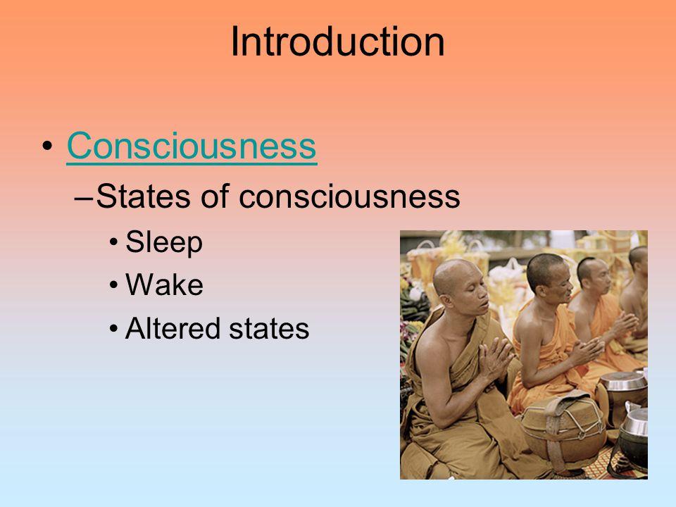 Biological Rhythms and Sleep Sleep Stages Stages of sleep –Awake Alpha waves –Stage 1 Sleep Hallucinations Hypnagogic sensations