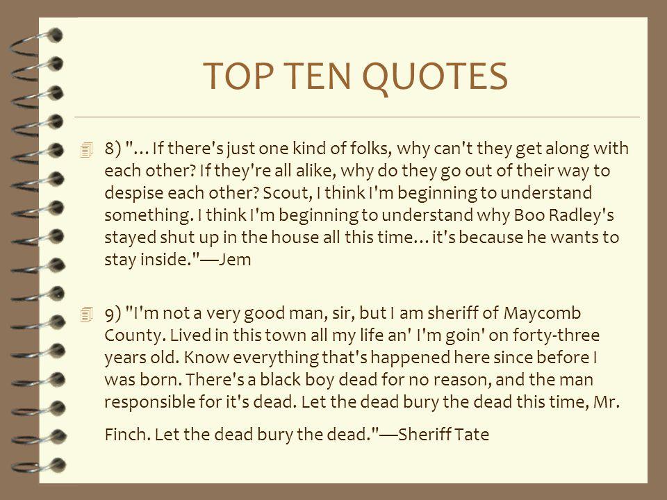 TOP TEN QUOTES 4 8)