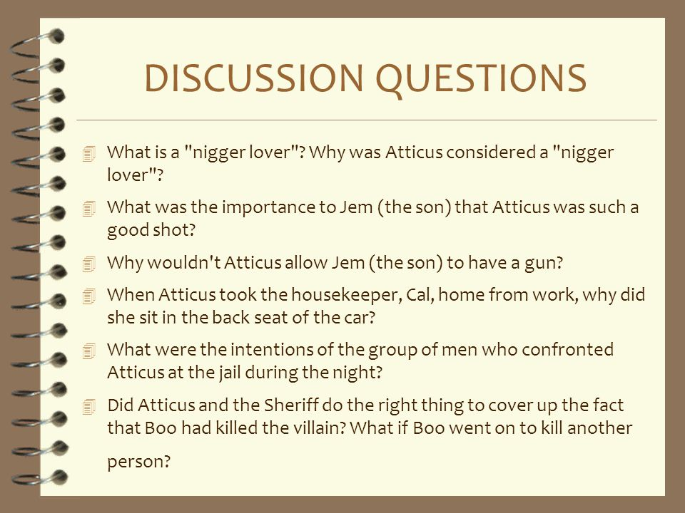 DISCUSSION QUESTIONS 4 What is a