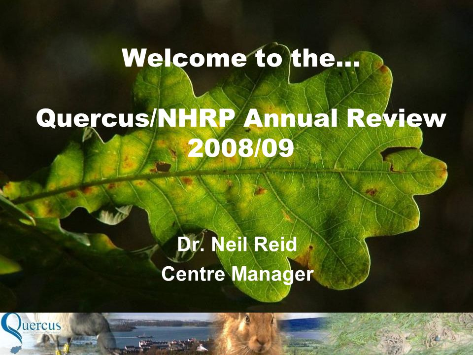 Dr. Neil Reid Centre Manager