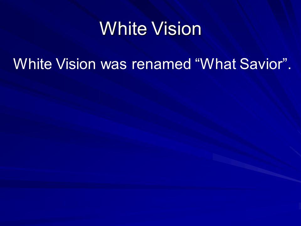 DICKEN MEDAL White Vision won the Dickin Medal for her bravery.