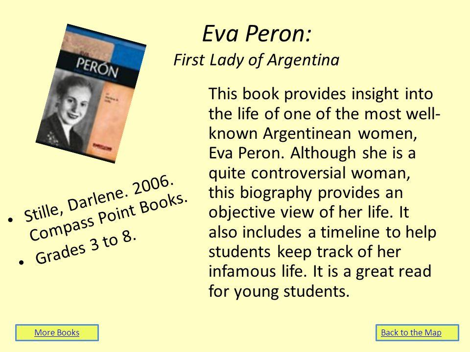Eva Peron: First Lady of Argentina Stille, Darlene.