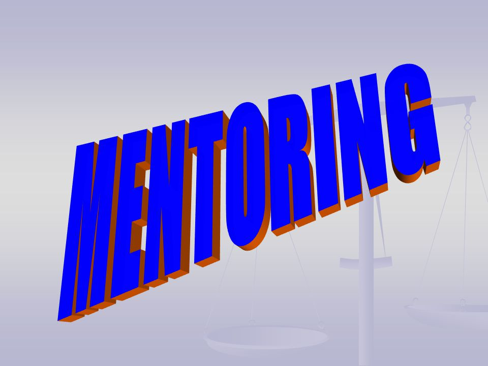 MENTORING IS…..