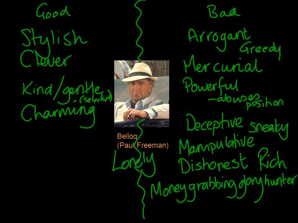 Belloq (Paul Freeman)