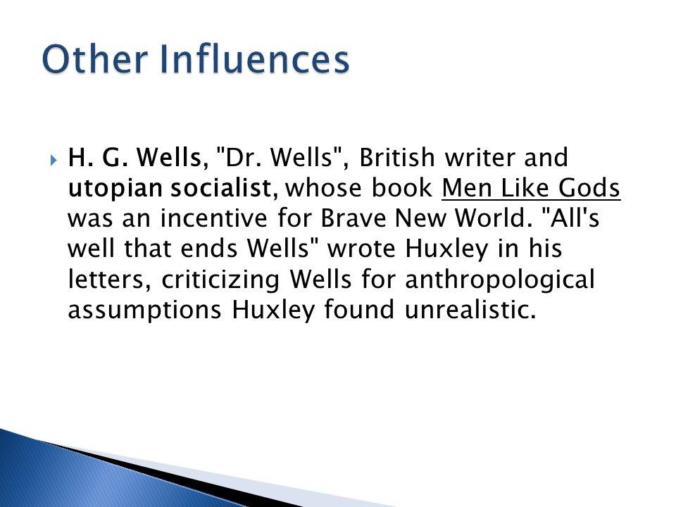  H.G. Wells, Dr.
