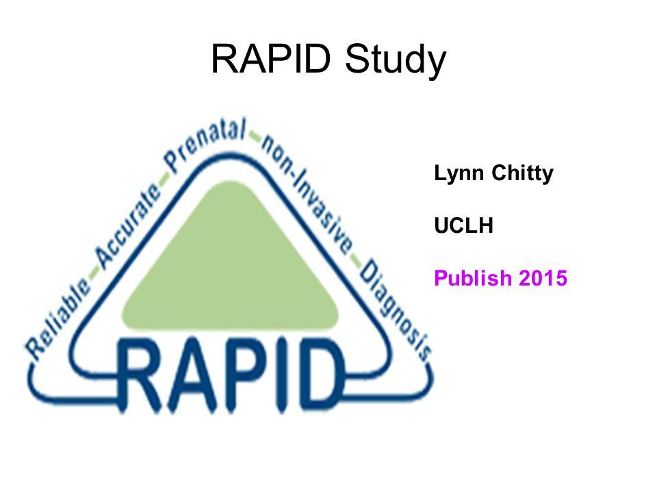 RAPID Study Lynn Chitty UCLH Publish 2015