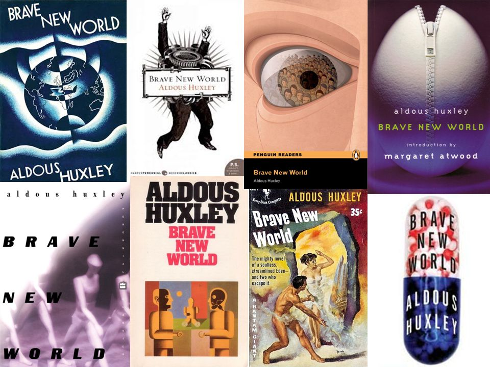 individuality in brave new world by aldous huxley and 1984 by george orwell Why every child should read '1984' and 'brave new world george orwell's nineteen eighty-four and aldous huxley's 1984, aldous huxley, brave new.