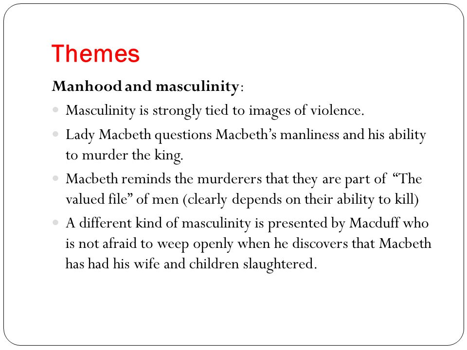 essay macbeth topic