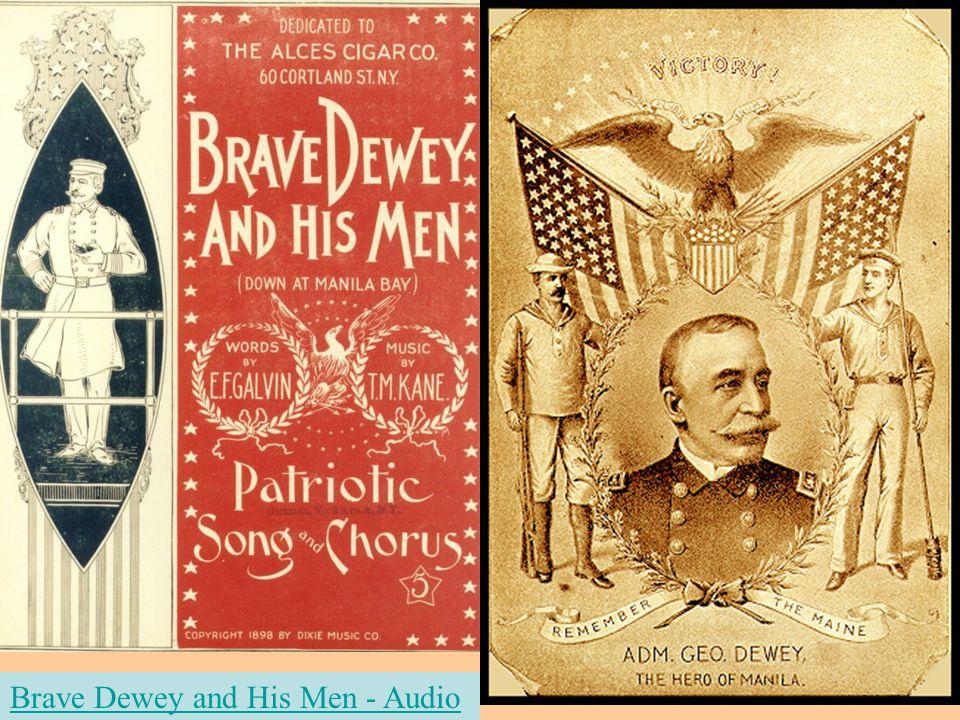 Brave Dewey and His Men - Audio