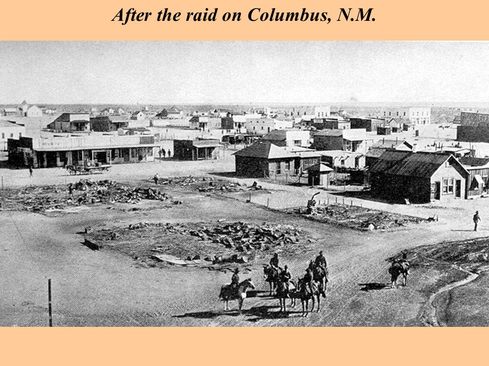 After the raid on Columbus, N.M.