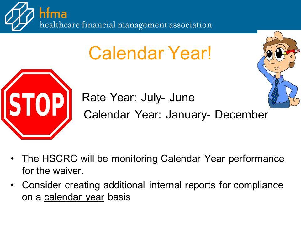 Calendar Year.