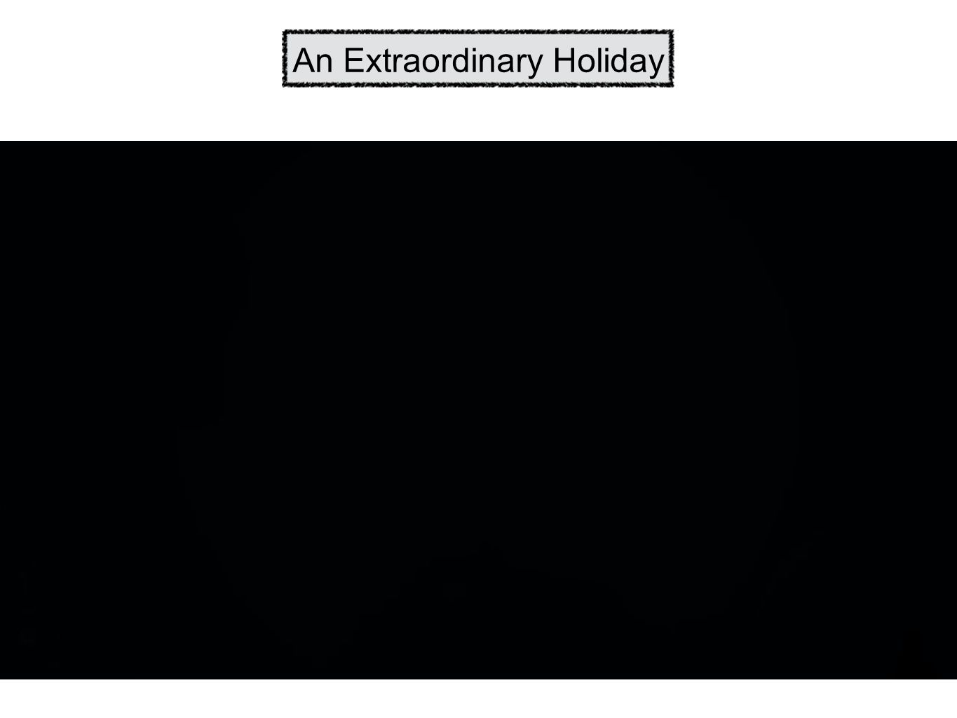 An Extraordinary Holiday