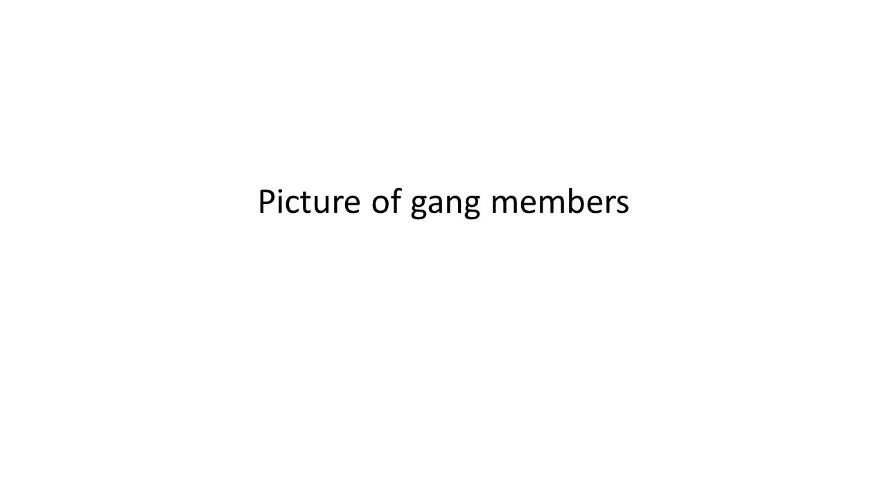 Picture of gang members