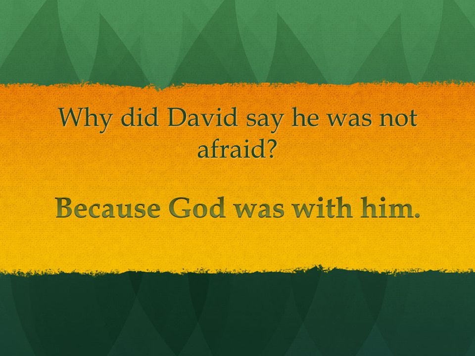 Did David's brothers want him to fight Goliath