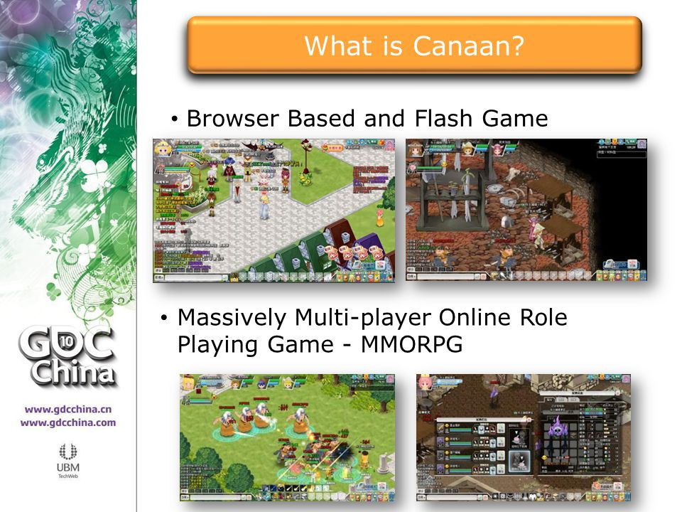 Browser Based and Flash Game Massively Multi-player Online Role Playing Game - MMORPG What is Canaan?