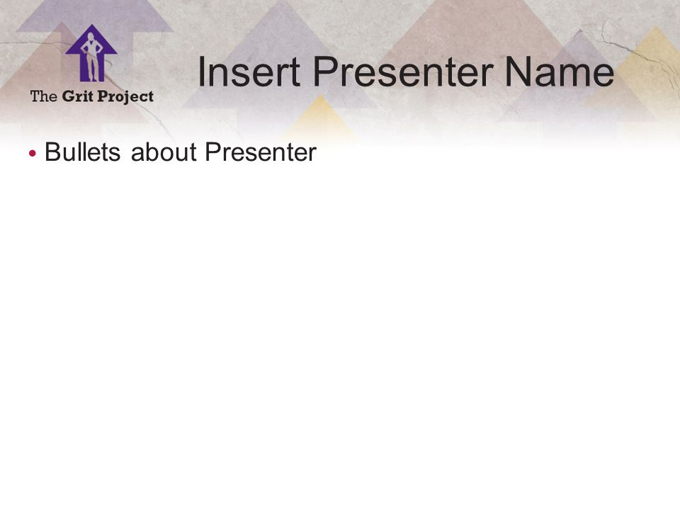 1 Copyright ©2014 Insert Presenter Name Bullets about Presenter