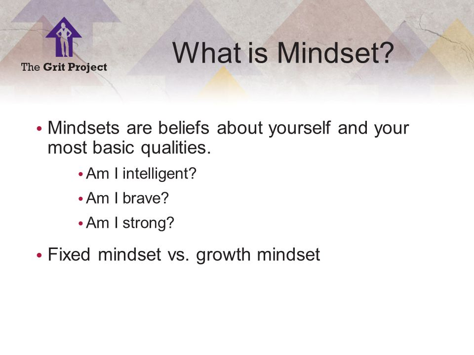 5 Copyright ©2014 What is Mindset.