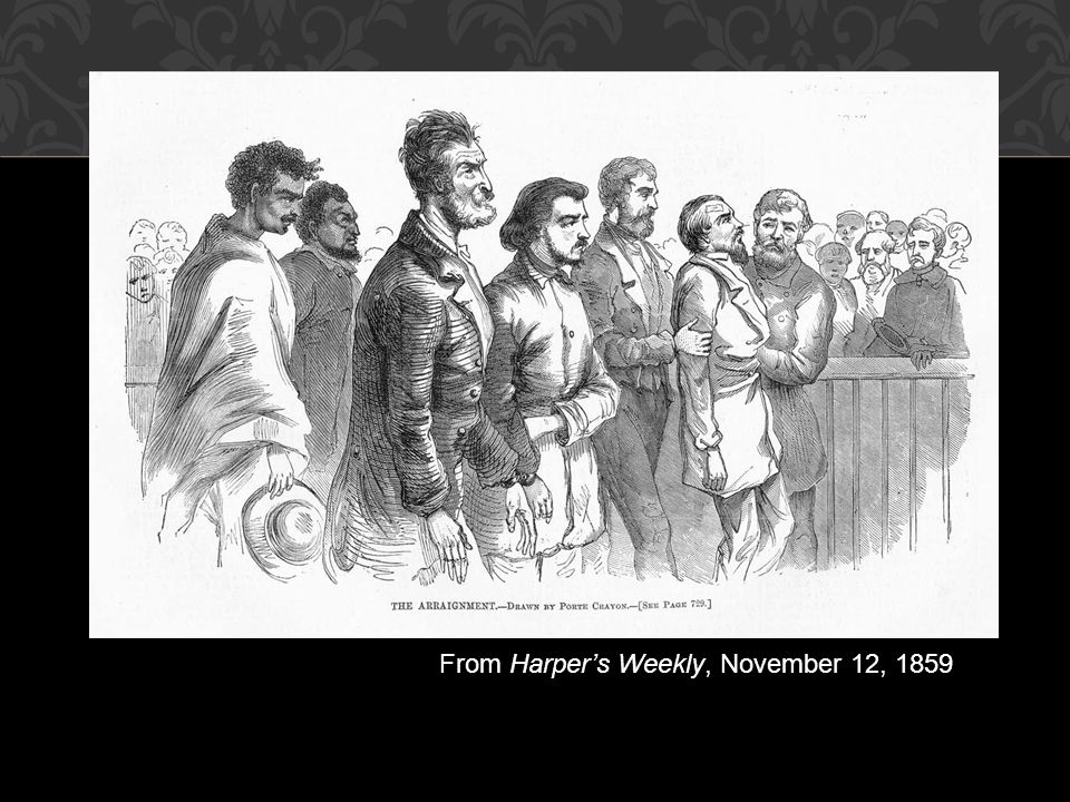 From Harper's Weekly, November 12, 1859