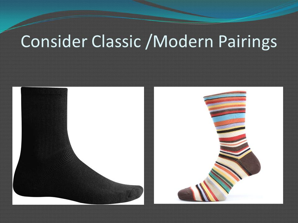Consider Classic /Modern Pairings