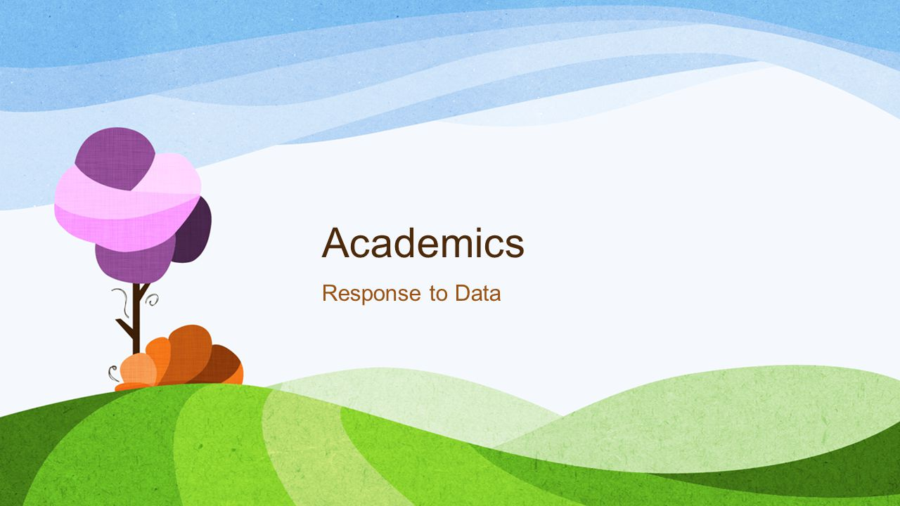Academics Response to Data