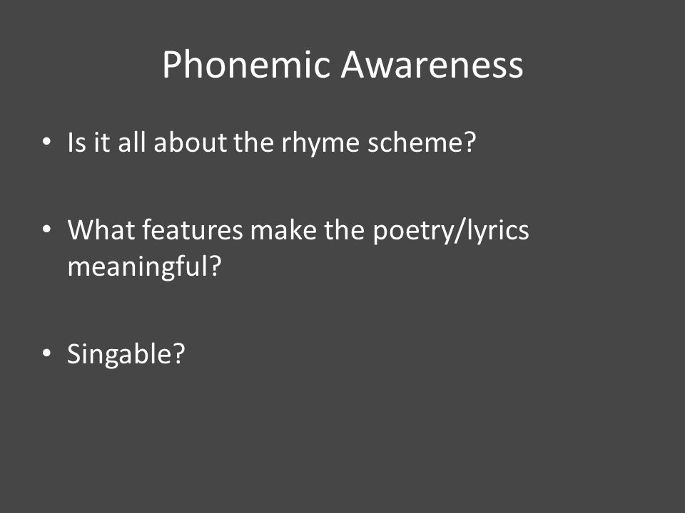 Phonemic or Semantic.How does word choice affect imagery.