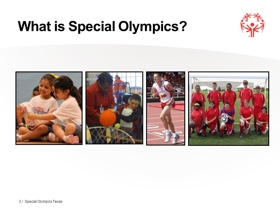 Athletes Must: Be 8 years or older to compete in local/area competition and 12 years or older to compete in a chapter competition.* Have been identified as having intellectual disabilities or a closely related developmental disability.