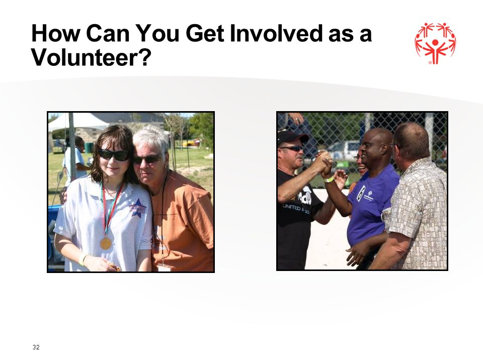 How Can You Get Involved as a Volunteer 32