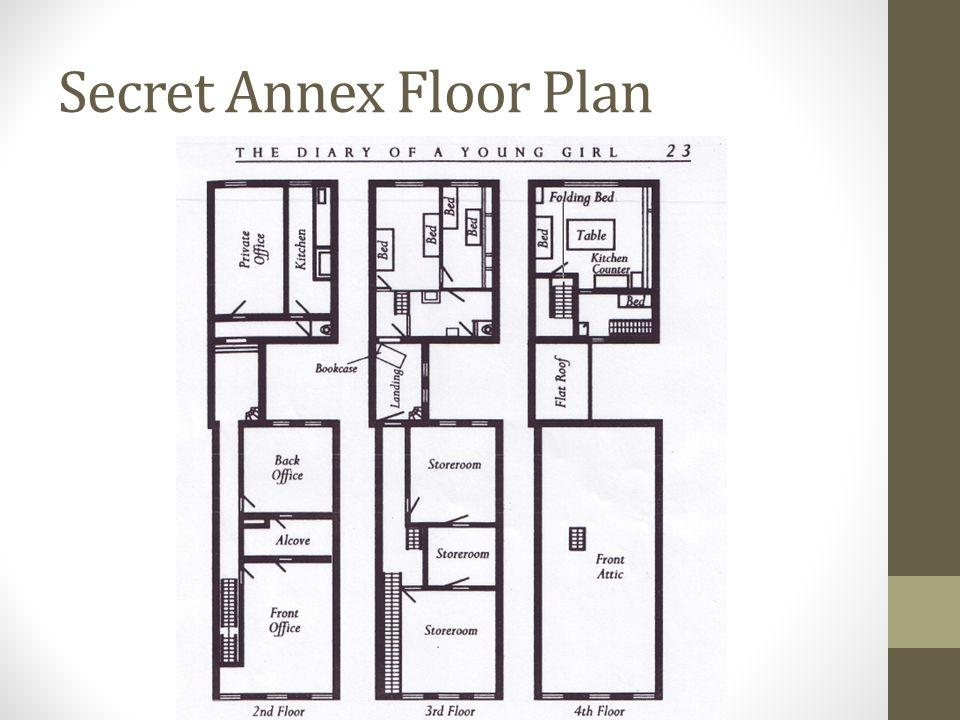 Secret Annex Floor Plan