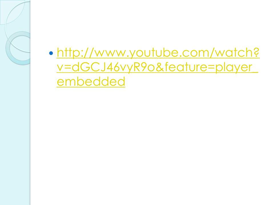 http://www.youtube.com/watch. v=dGCJ46vyR9o&feature=player_ embedded http://www.youtube.com/watch.