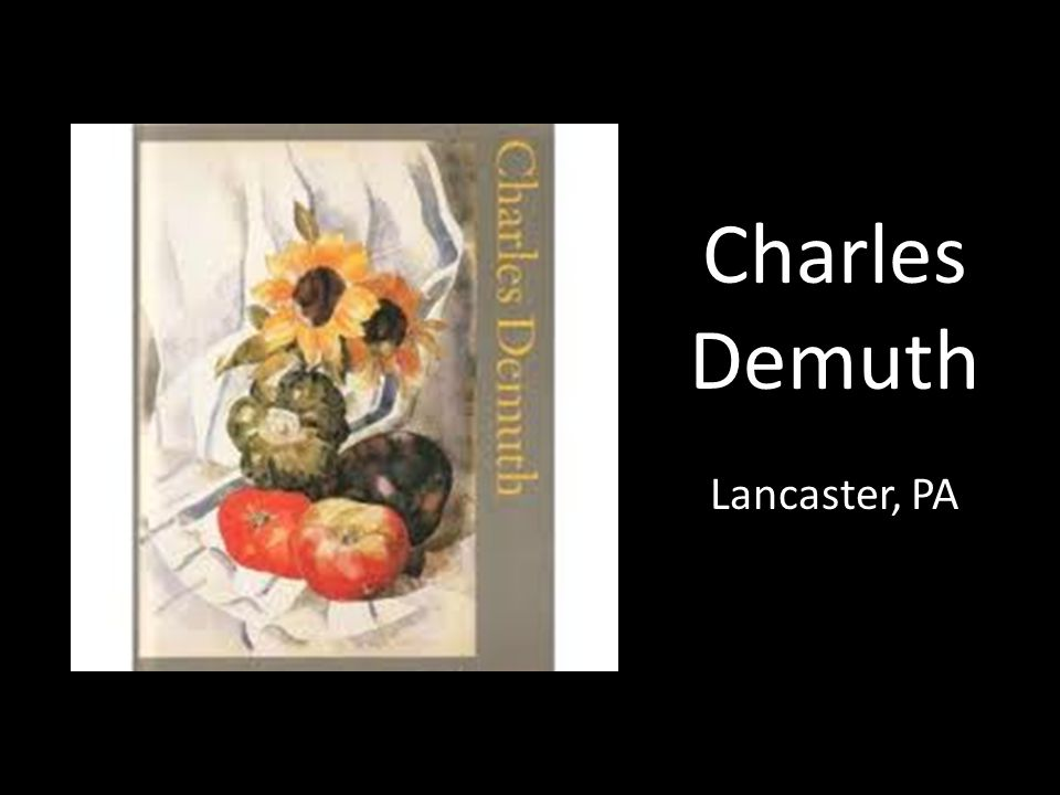 Charles Demuth Lancaster, PA