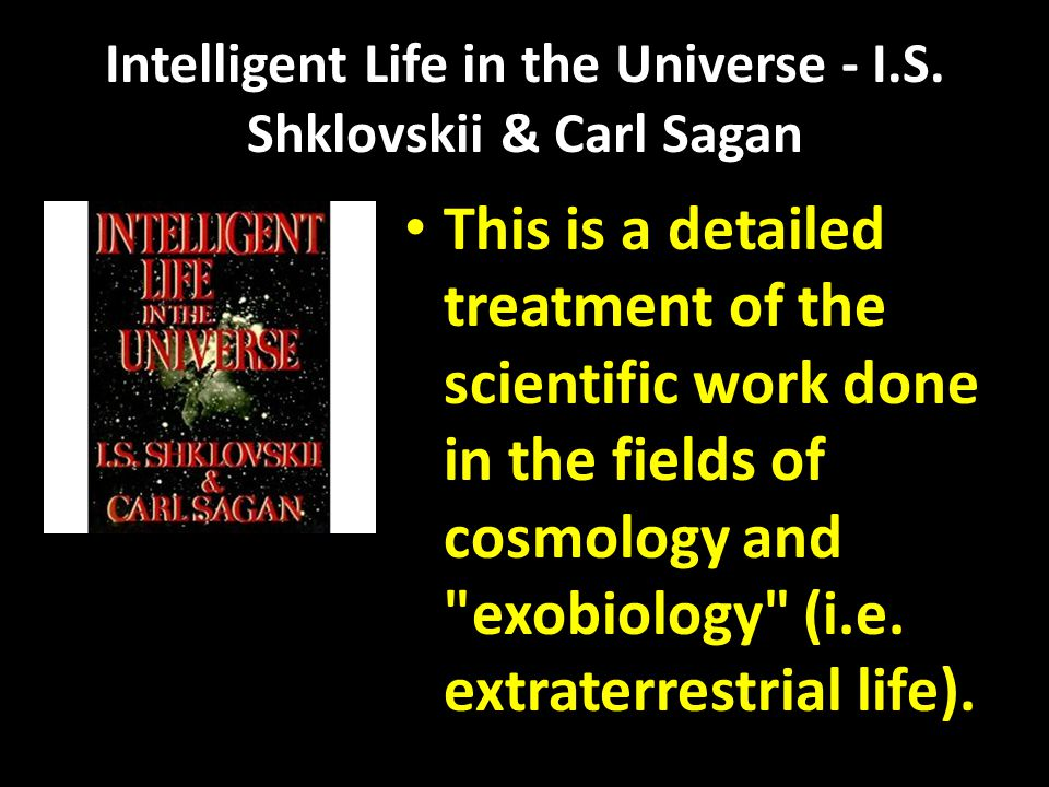 Intelligent Life in the Universe - I.S.
