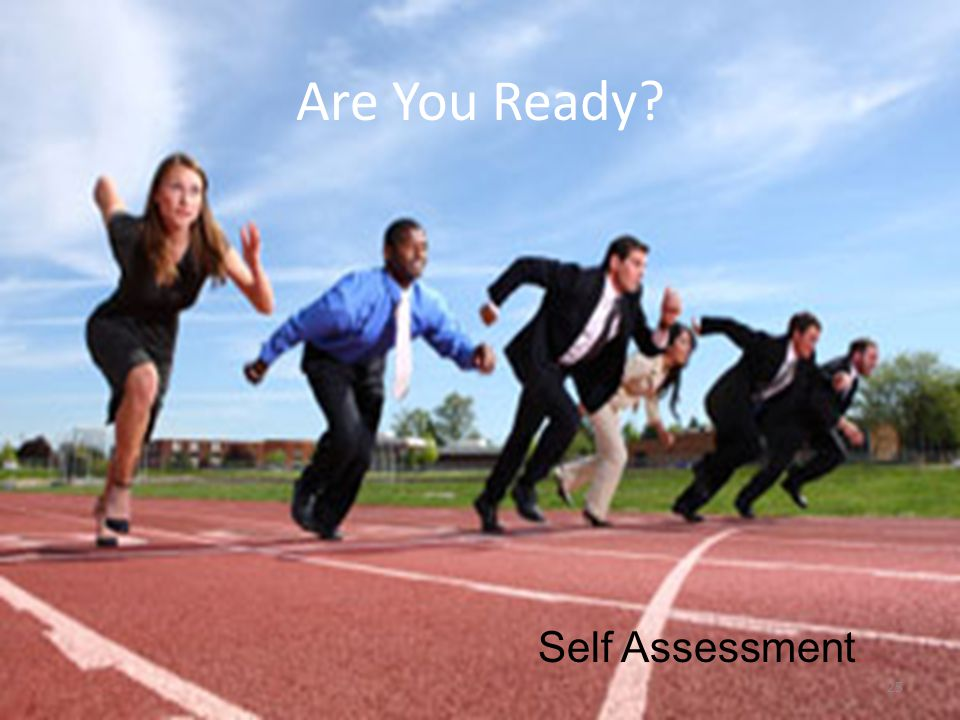 Are You Ready 25 Self Assessment