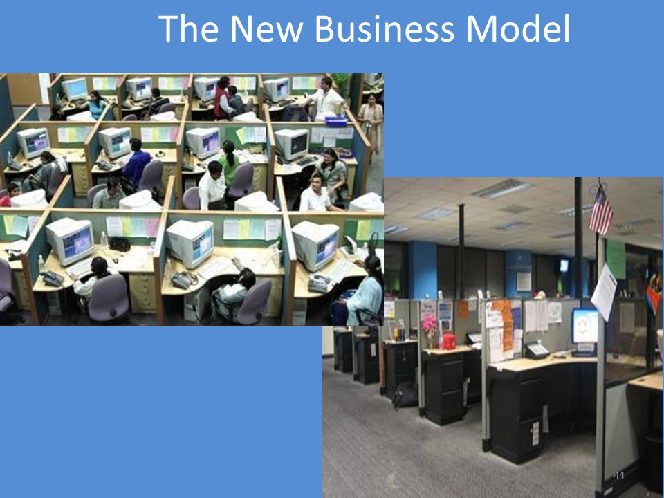 44 The New Business Model