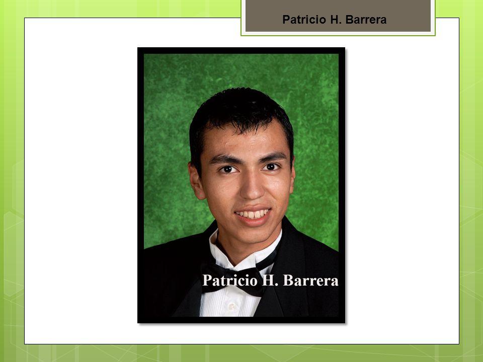 Patricio H. Barrera