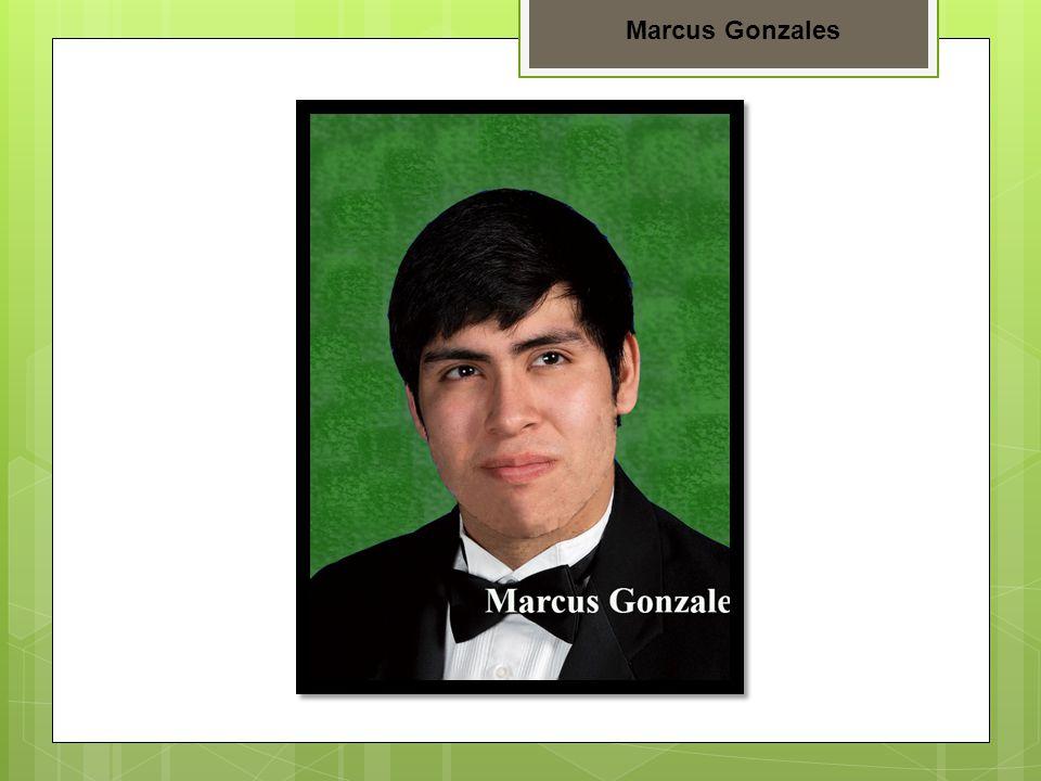 Marcus Gonzales