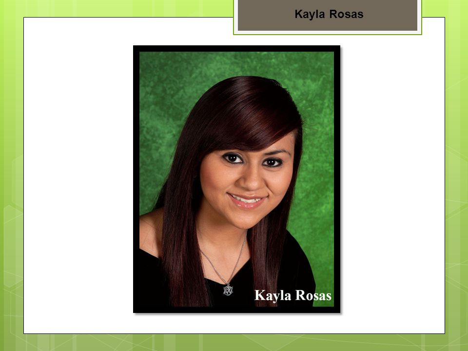 Kayla Rosas