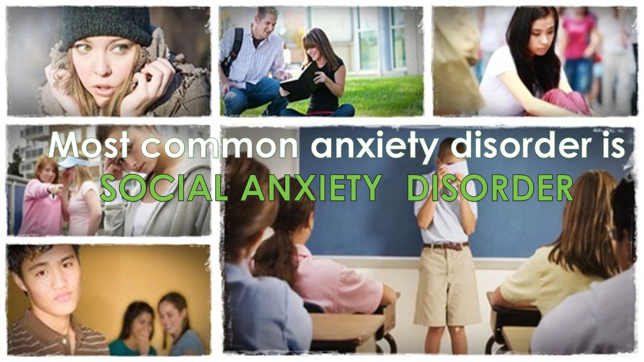 8 SOCIAL ANXIETY DISORDER (SAD) Exposure to the feared situation almost invariably provokes anxiety Anxiety is out of proportion to the actual threat posed by the situation The anxiety lasts more than 6 months The feared situation is avoided or endured with distress The avoidance, fear or distress significantly interferes with their routine or function MARKED FEAR OF ONE OR MORE SOCIAL OR PERFORMANCE SITUATIONS IN WHICH THE PERSON IS EXPOSED TO THE POSSIBLE SCRUTINY OF OTHERS AND FEARS HE WILL ACT IN A WAY THAT WILL BE HUMILIATING