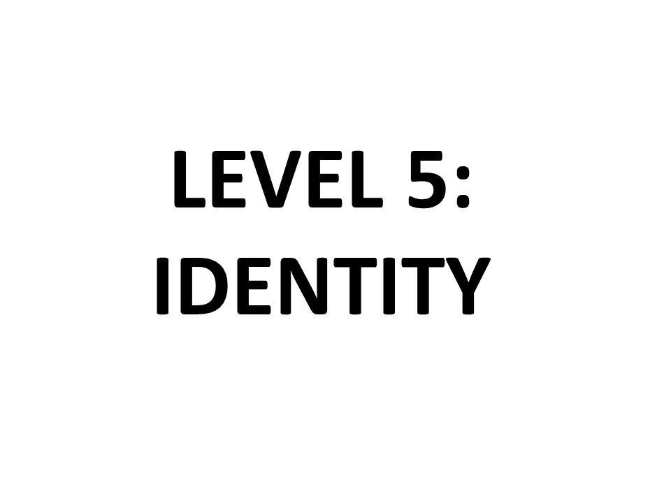 LEVEL 5: IDENTITY
