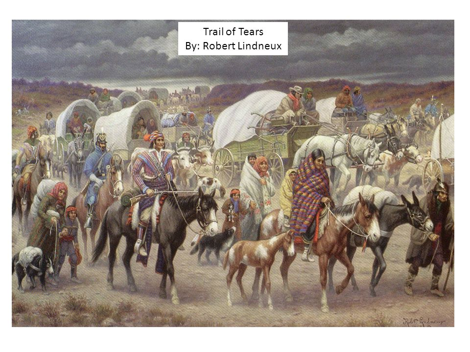 Trail of Tears By: Robert Lindneux