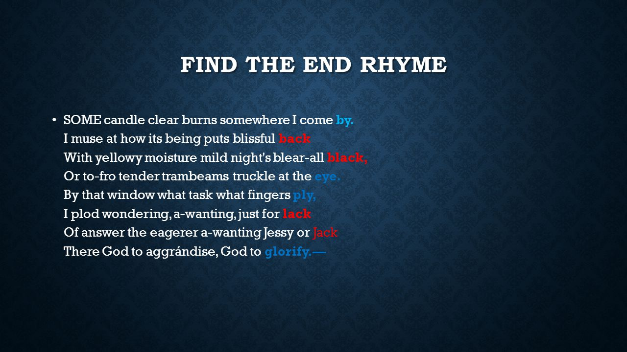 SLANT RHYME stressed syllables of ending consonants match, however the preceding vowel sounds do not match.