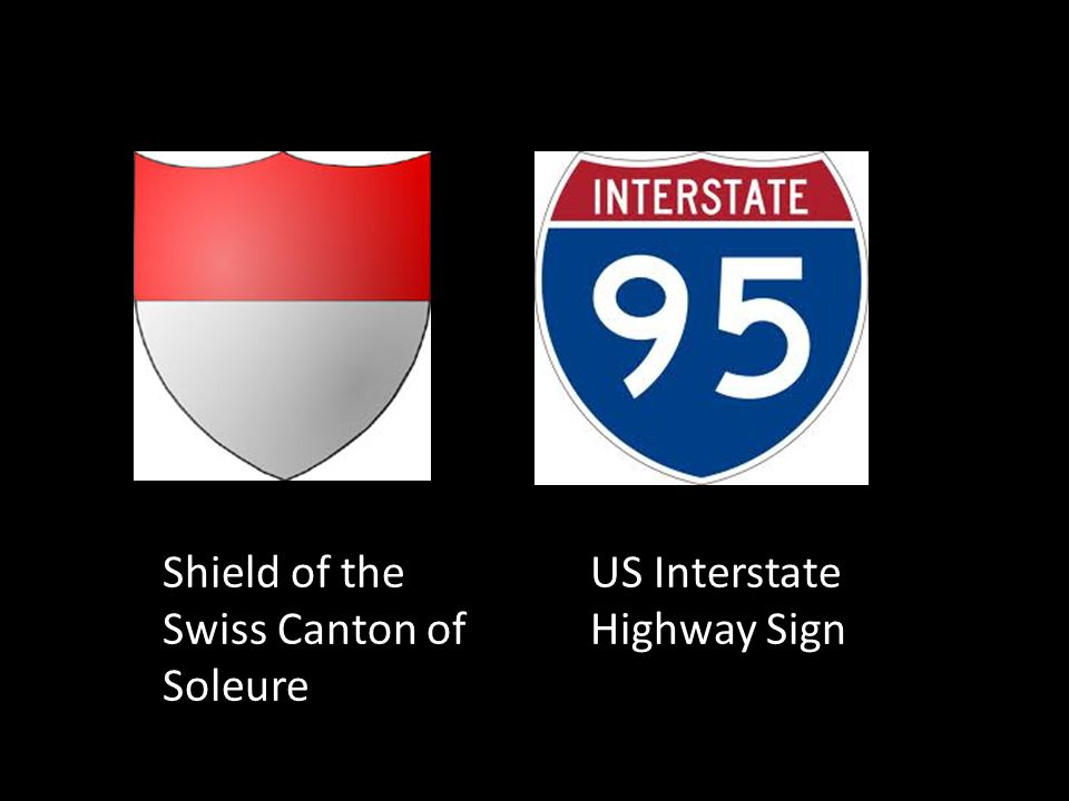 US Interstate Highway Sign