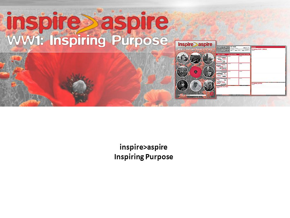 inspire>aspire Inspiring Purpose