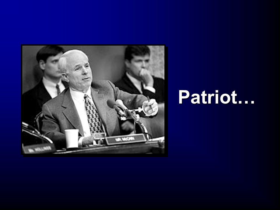 Patriot…