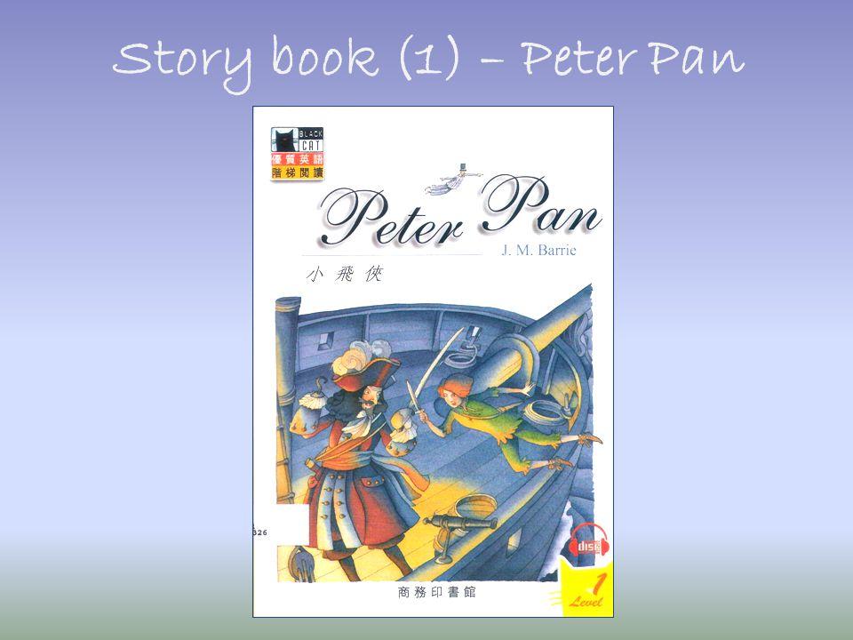 Story book (1) – Peter Pan