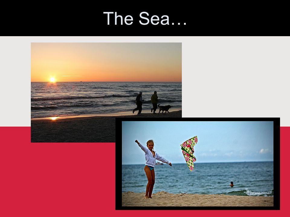 The Sea…