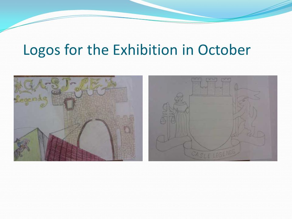 Logos for the Exhibition in October