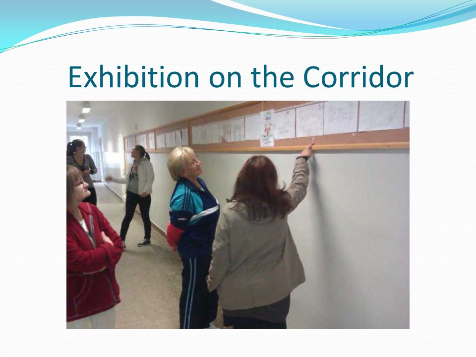 Exhibition on the Corridor