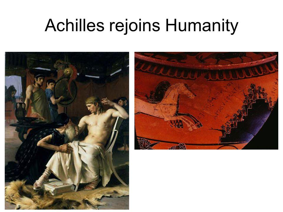 Achilles rejoins Humanity