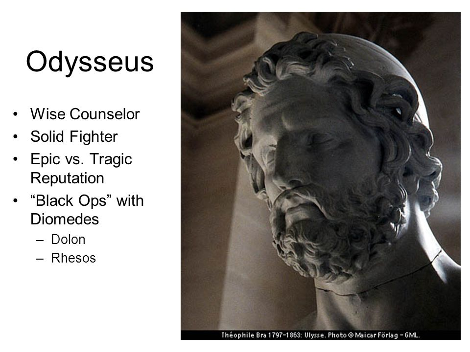 Odysseus Wise Counselor Solid Fighter Epic vs.
